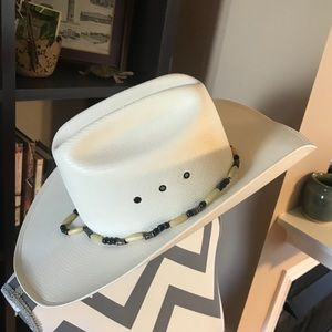 Bailey Size 7 1/4 Shantung Hat With Beads